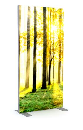 Verlicht Frame 2 x 1 meter voor full color print