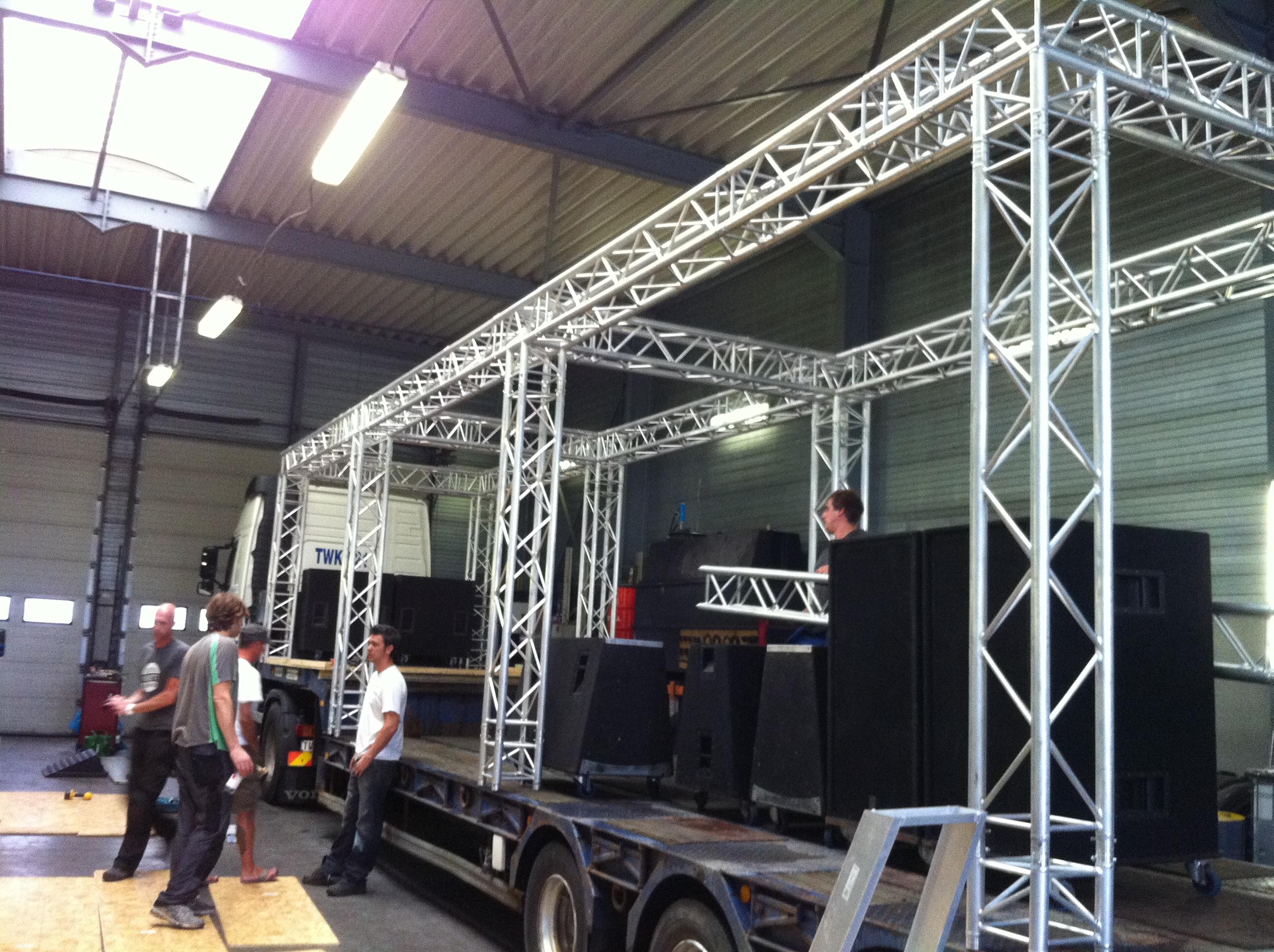 Mobiele DJ truck