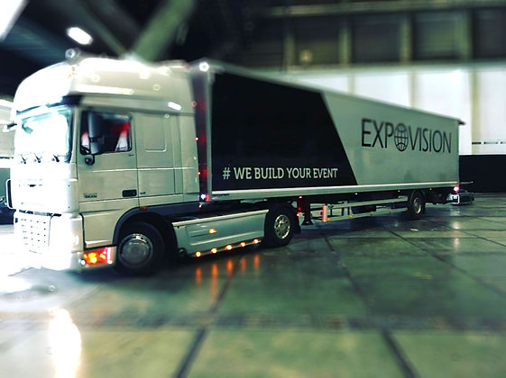 Trailer + CE Driver - 90m3 laadklep 12 ton / uur