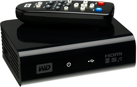 WD HD mediaplayer