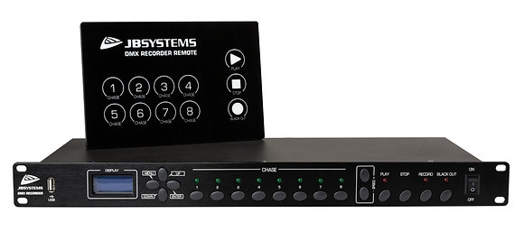 DMX recorder (met extra losse controller) JB systems
