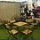 Thumbnail: Bistro Tafel set met 4 stoelen