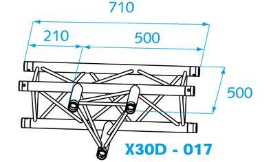PROLYTE X-30D  T-stuk 017 - 1 dag huren