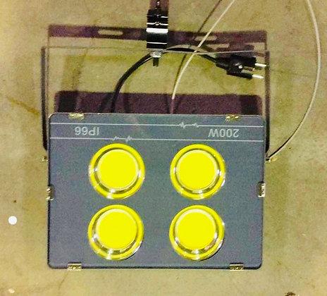 Krachtige 200W Expo LED straler CW
