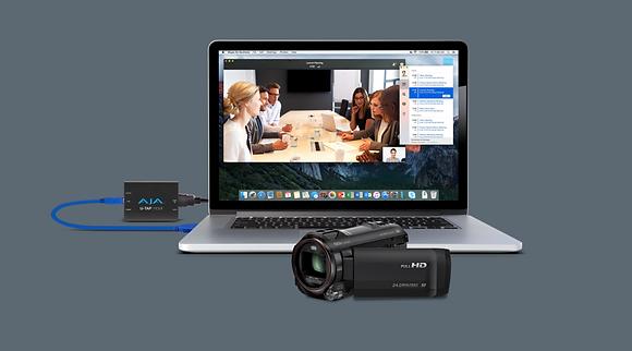 Live Stream module AJA U tap HDMI