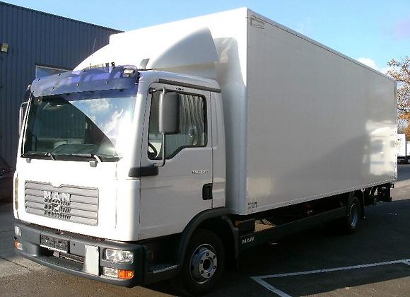 30m3 Vrachtwagen  / km ( zonder bestuurder )