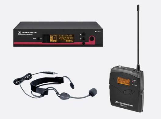 Draadloze Headset EW100 G3    -  1 dag huren