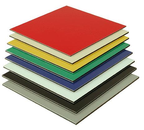 Dibond 3 mm vaste kleur / m2