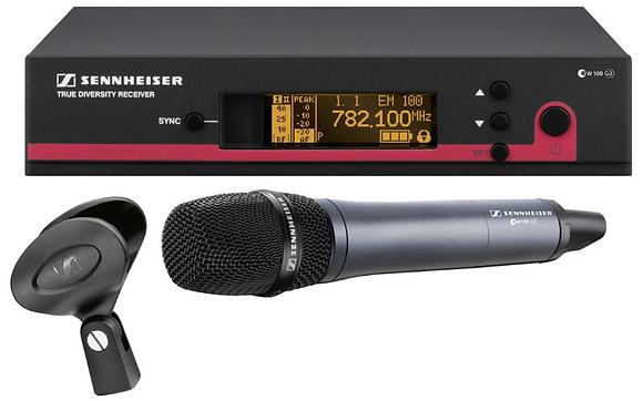 Draadloze Microfoon EW100 G3 -  1 dag huren