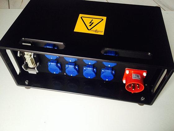 Powerbox 32A - 8 mono & Harting16P - 1 dag huren