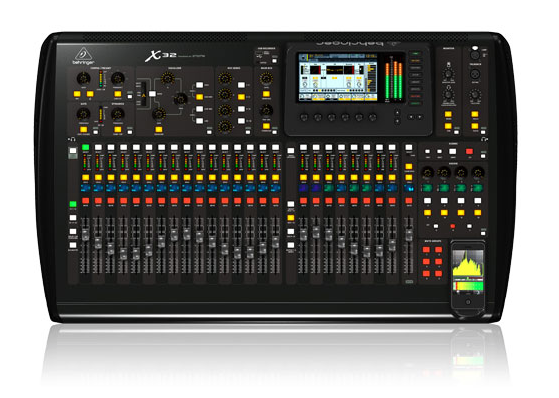 X32 - Behringher Digital PA Mixer