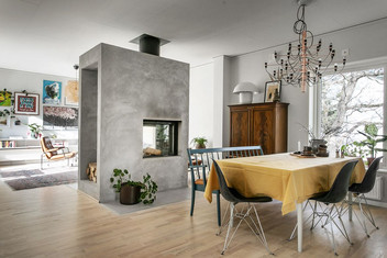 Inredning matrum och vardagsrum