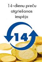 14 dienu preču atgriešanas iespēja, atteikuma tiesības