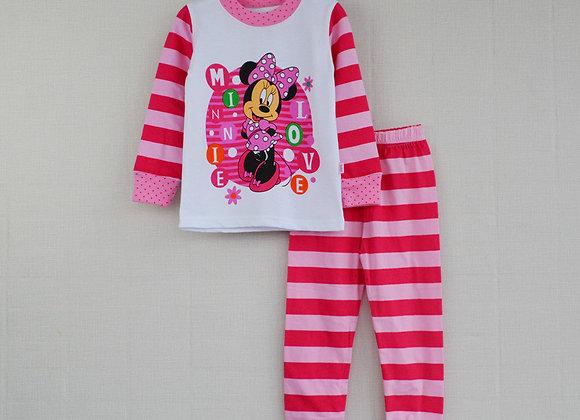 Meiteņu Minnie pidžama [ID 438]