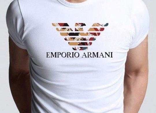 Emporio Armani T-krekls balts [ID 199]