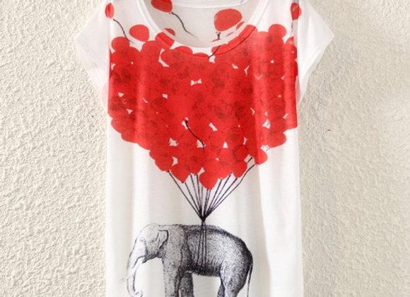 Sieviešu T-krekls ar printu [ID 506]