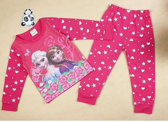 Meiteņu Frozen pidžamas 10 [ID 647]
