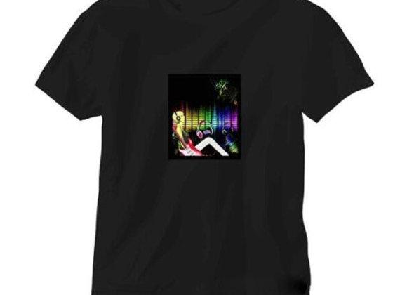 LED T-krekls ''DJ Rock' [ID 501]