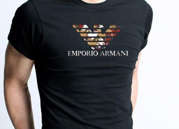 Emporio Armani T-krekls melns [ID 200]