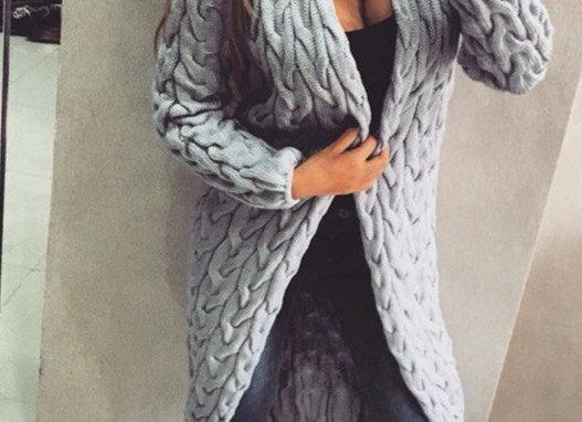 Sieviešu jaka Knitt