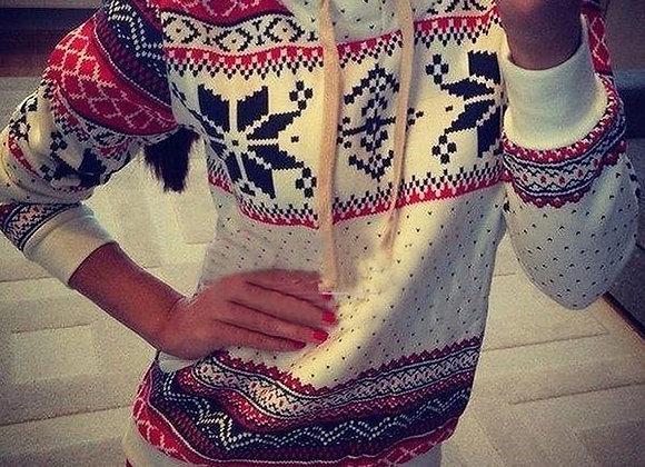 Sieviešu džemperis Christmas [ID 290]
