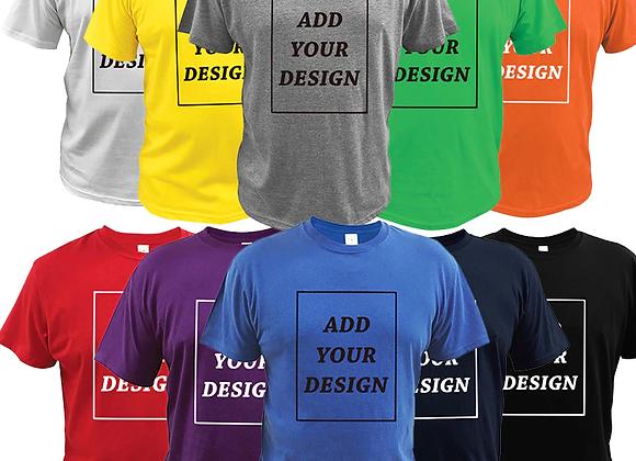 Vīriešu T-krekla apdruka (izveido savu dizainu)
