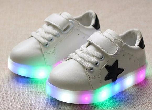 Bērnu LED kedas Star