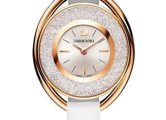 Swarovski sieviešu rokas pulkstenis Crystalline Oval