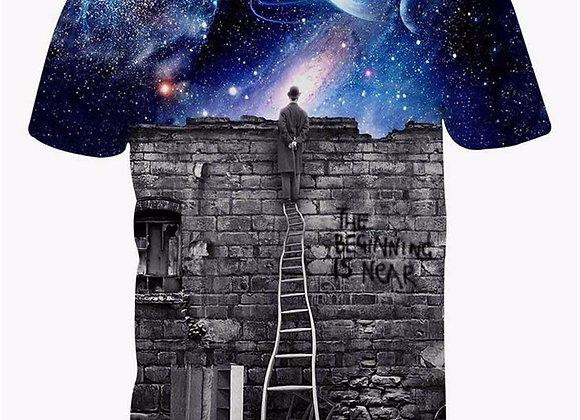 Vīriešu  T-krekls ''3D magic 2' [ID 518]