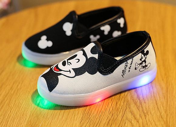 Bērnu LED kedas Mickey mouse