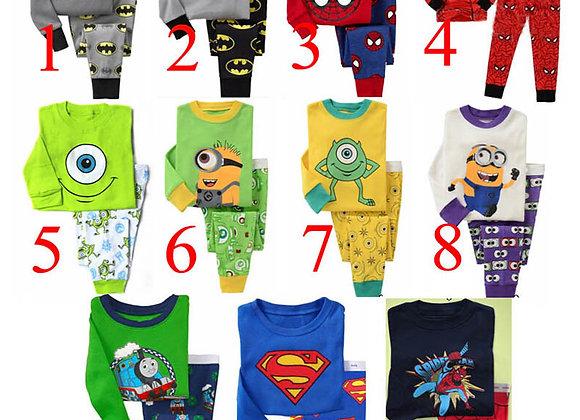 Bērnu pidžamas 11 veidi [ID 650]