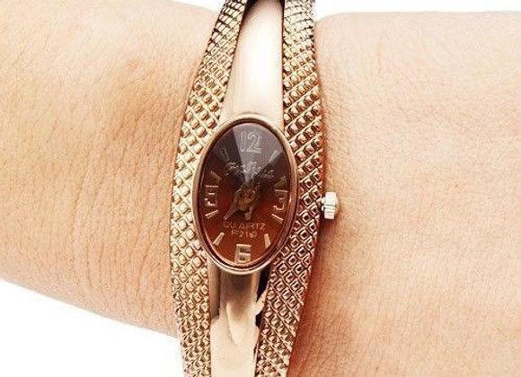 Sieviešu rokas pulkstenis Bronz [ID 415]