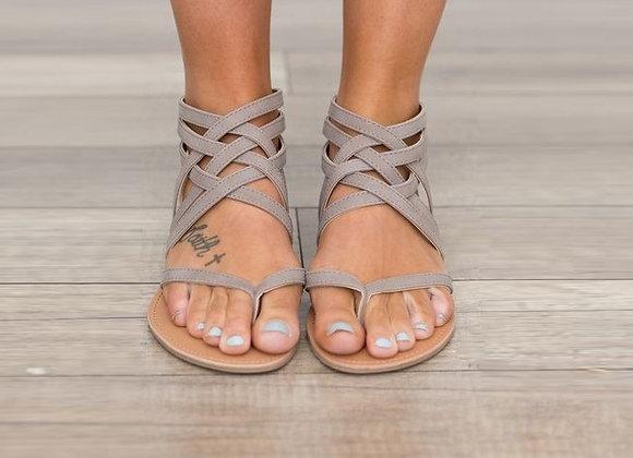 Sieviešu sandales Strip