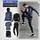 Thumbnail: Vīriešu sporta tērpa komplekts 5in1 XFitness