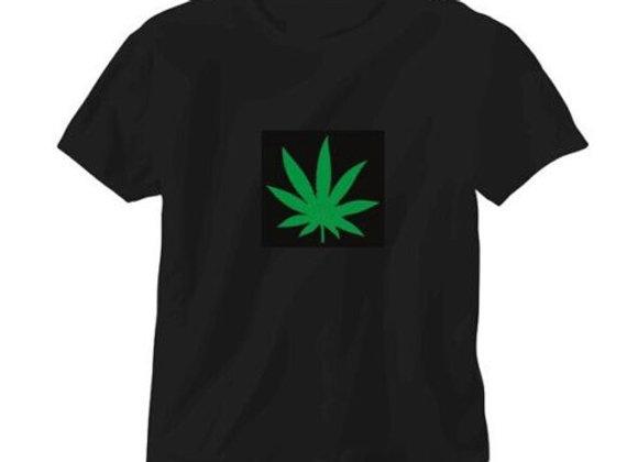 LED T-krekls ''Hemp Leaf'' [ID 501]