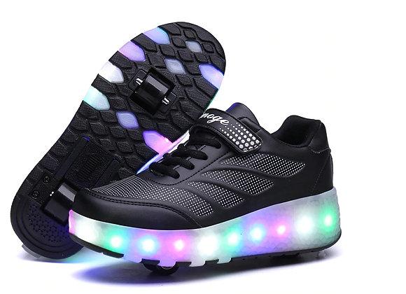 Unisex LED skrituļ apavi Helijs3