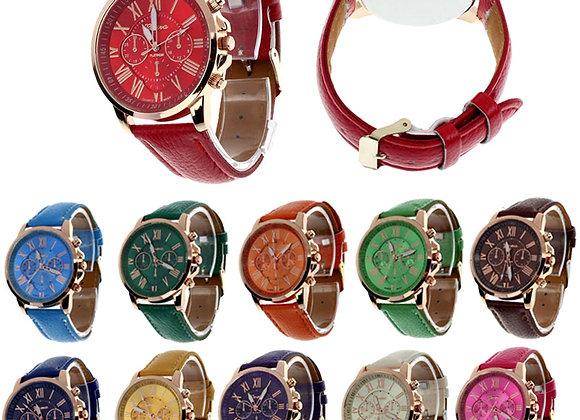 Sieviešu rokas pulkstenis Geneva [ID 511]