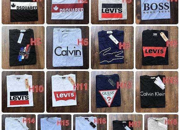 Vīriešu un sieviešu T-kreklu kolekcija