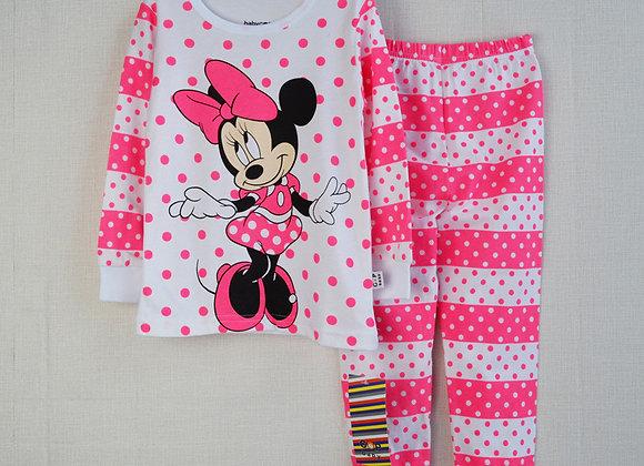 Meiteņu Minnie pidžama [ID 439]