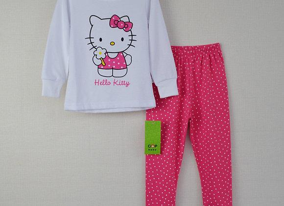 Meiteņu Hello kitty pidžama [ID 437]