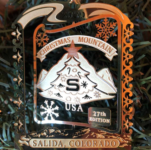 Salida Collector's 2020 Ornament
