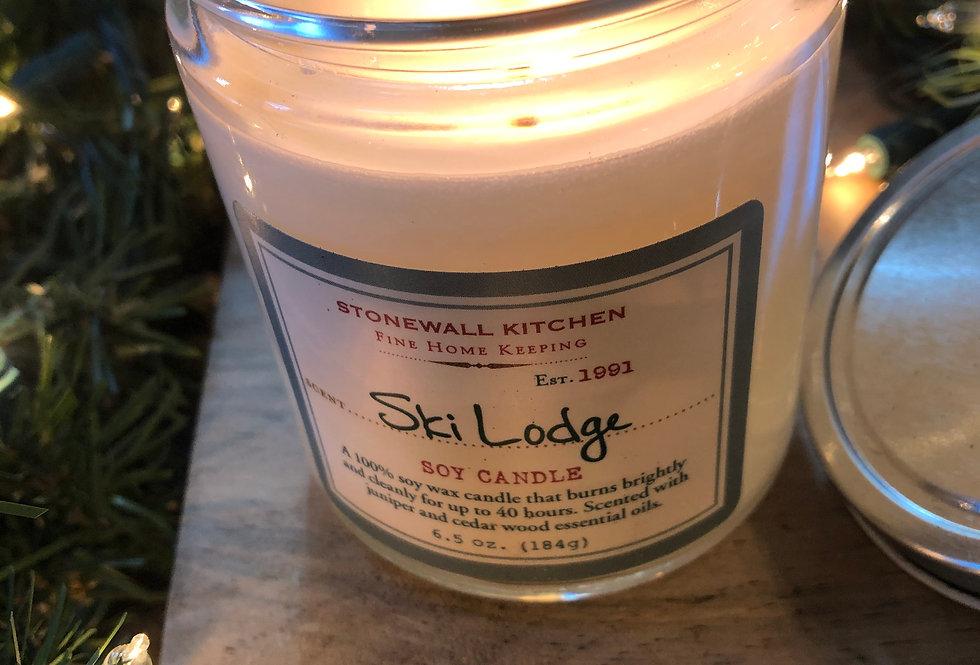 Ski Lodge Candle