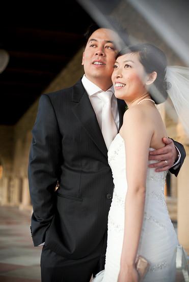 Stanford Memorial Church Wedding, Stanford California Wedding