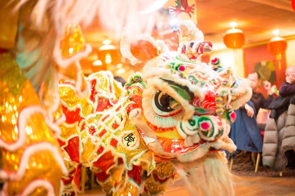 Traditional Lion Dance