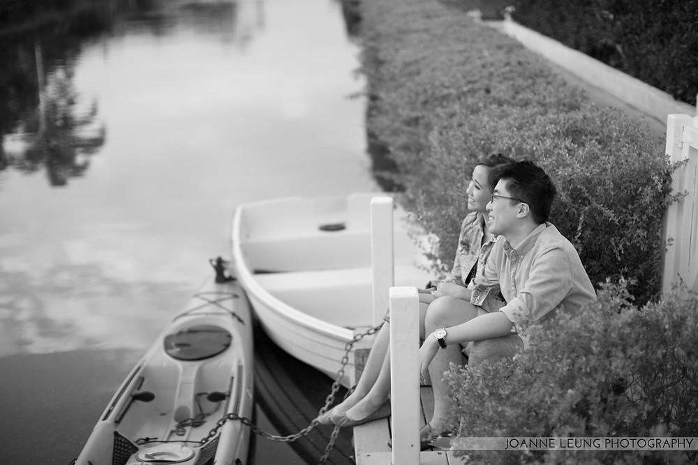 Venice Beach Canals Engagement Photographer