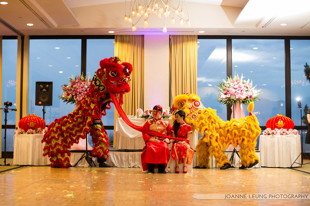 Wedding Lion Dance Photography