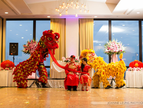 Thinking about having a lion dance at your wedding?  Here are some answers to questions you might ha
