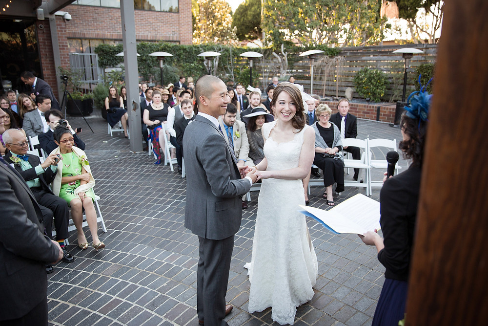 Tiato Santa Monica Outdoor Wedding Ceremony
