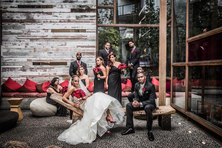 Hotel Maya Wedding, a Long Beach Wedding venue by the ocean