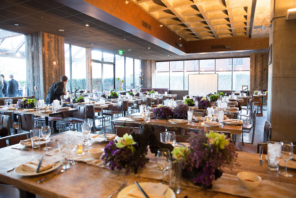 Tiato Santa Monica Indoor Wedding Layout